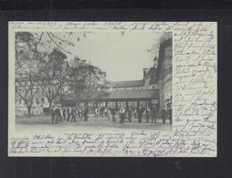 Carte Postale College De Meaux Coure Des Grands 1902 - Meaux