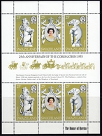 Swaziland 1978 - The 25th Anniversary Of Coronation Of Queen Elizabeth II - Miniature Sheet Mi 293-295 ** MNH - Swaziland (1968-...)