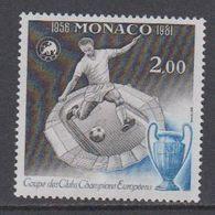 Monaco 1981 Coupe D'Europe De Football 1v ** Mnh (40857) - European Ideas
