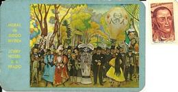 """MEXICO  MESSICO   CIUDAD DE MEXICO  Mural """"La Alameda"""" De Diego Rivera  Hotel Del Prado  Nice Stamp - Messico"""