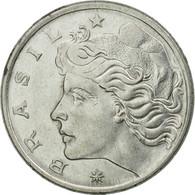 Monnaie, Brésil, 50 Centavos, 1975, SUP, Stainless Steel, KM:580b - Brésil