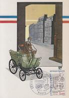 Carte Maximum  1er  Jour    FRANCE     Centenaire  De  L' Automobile    PARIS   1984 - Cartes-Maximum