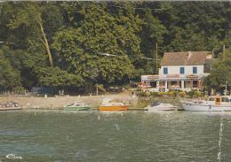 """Belgique - Waulsort - """"Pavillon Du Passage D'Eau"""" - Restaurant - Bâteaux - Hastière"""