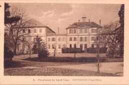 2 ALTE AK   KIENTZHEIM - Kienzheim / Dep. 68   - Pensionnat - 1927 Gelaufen - France