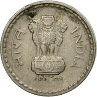 Monnaie, INDIA-REPUBLIC, 5 Rupees, 2002, TTB, Copper-nickel, KM:154.1 - India