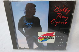 """CD """"Billy Ray Cyrus"""" It Won't Be The Last - Country & Folk"""
