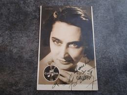 LYS GAUTY - Autographes