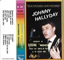 """Johnny Hallyday  """"  Souvenirs, Souvenirs  """" - Cassettes Audio"""