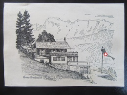 Postkarte Haus Wachenfeld Obersalzberg Berchtesgaden - Deutschland