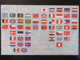 Postkarte Olympiade 1936 - Deutschland