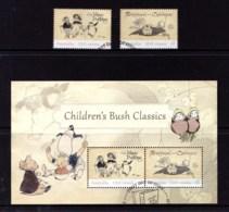 Australia 2018 Children's Bush Classics Set Of 2 + Minisheet Used - 2010-... Elizabeth II