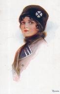 RUSSIE - Illustrateur Ethel C. BRISLEY - RUSSIA - JEUNE FEMME - Editeur A. Vivian Mansell & Co - Other Illustrators