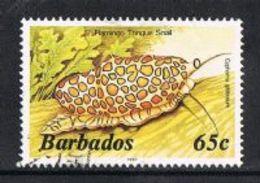 Barbados SG804B 1986 Definitive 65c Good/fine Used [9/10571/1D] - Barbados (1966-...)
