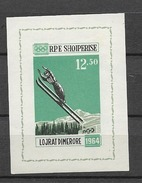 1963 MNH Albania Mi Block 21,  Postfris** - Albanie