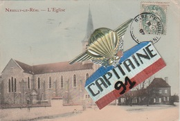 CPA NEUILLY LE REAL ALLIER L EGLISE - France