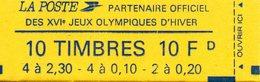 France.carnet 1502.carnet De 10 Timbres Composition Variable.neuf Non Ouvert. - Carnets