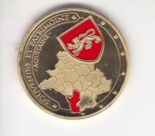 Jeton Médaille Souvenirs Et Patrimoine Dune Du Pyla Aquitaine - Touristiques