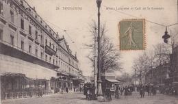 TOULOUSE  Allées Lafayette Et Café De La Comédie - Toulouse