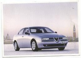 "Car Mobile Automobile Alfa Romeo ""156"" Official By FIAT Advertising Promo Pcard Torino 14oct1997 To Milano - Turismo"