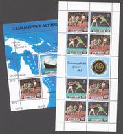 Solomon Islands 1982 Mi# 471-72+ Bl.10** 12th COMMONWEALTH GAMES - Salomon (Iles 1978-...)