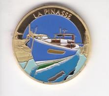 Jeton Médaille Souvenirs Et Patrimoine La Pinasse Aquitaine - Tourist
