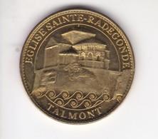 Jeton Médaille Arthus Bertrand Cathedrales Et Sanctuaires De France Eglise Sainte Radegonde 2007 - 2007