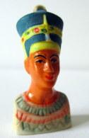 Fève Pendentif Mate Et Brillante - Egypte - Nefertiti - Characters