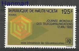 Burkina Faso 1982 Mi 864 MNH ( ZS5 BRF864 ) - Telecom