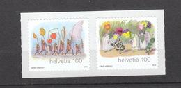 Schweiz  **  2286-2287 Ernst Kreidolf Selbstklebend Auf Folie Postpreis 2,00 CHF - Schweiz
