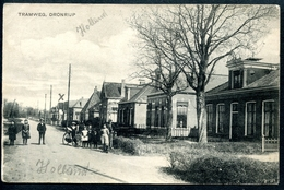 Dronrijp, Dronryp, 5.3.1912, Tramweg, Waadhoeke, Kinder - Niederlande