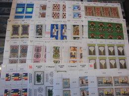 Sammlung, Kleinbogen - Österreich, 1988-2001, Postfrisch, 20 Stück Komplett - Blocks & Kleinbögen
