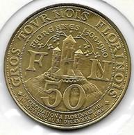 50 GROS TOURNOIS FLORINOIS 1980  FLORRENNES - Jetons De Communes