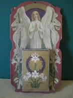 CALENDRIER EPHEMERIDE  1910 Thème RELIGIEUX  Rare Complet: Ange, Fleurs De Lys,couronne D'épines. - Otros