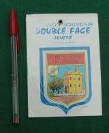 Autocollant 088, Ecusson Blason Double-face Adhésif Soven, Port St Louis Du Rhone - Stickers