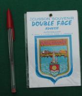 Autocollant 089, Ecusson Blason Double-face Adhésif Soven, Port Camargue - Autocollants