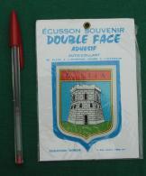 Autocollant 090, Ecusson Blason Double-face Adhésif Soven, Bastia Corse - Stickers