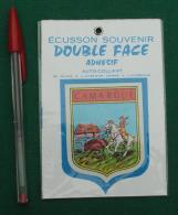Autocollant 091, Ecusson Blason Double-face Adhésif Soven, Camargue - Stickers