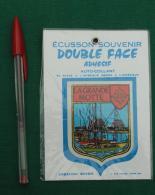 Autocollant 092, Ecusson Blason Double-face Adhésif Soven, La Grande Motte - Stickers