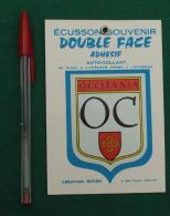 Autocollant 093, Ecusson Blason Double-face Adhésif Soven, Occitania - Autocollants