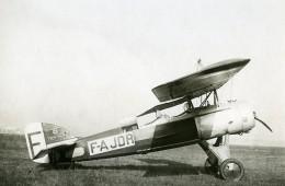 France Morane Saulnier 191 F-AJDR Avion Aviation Ancienne Photo 1929 - Aviation