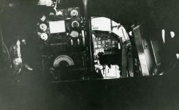 Royaume Uni Avion Avro 694 Lincoln Cockpit Aviation Ancienne Photo 1949 - Aviation