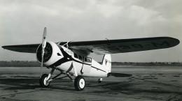 USA Avion Lockheed Vega 5C Wasp 420 HP Aviation Miss Streamline NC539 Ancienne Photo 1940 - Aviation