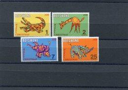 BOTSWANA 1970 CHRISTMAS M.67/70 MNH. - Botswana (1966-...)