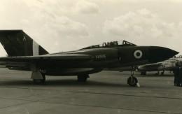Royaume Uni Avion Gloster Javelin XA565 Aviation Ancienne Photo 1960 - Aviation
