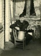 France Lille Homme En Uniform Popotte Scene De Fantaisie Ancienne Photo 1960 - Anonymous Persons