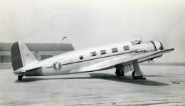 USA Avion Vultee V IA Cyclone American Airlines Aviation Ancienne Photo 1930's - Aviation