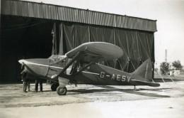 Angleterre Avion Heston Phoenix G-AESV Aviation Ancienne Photo 1940 - Aviation