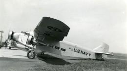 USA Avion US Navy Aviation Ancienne Photo 1940 - Aviation