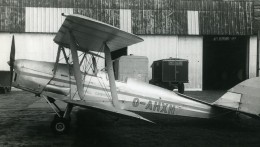 Royaume Uni Avion De Havilland Tiger Moth G-AHXN Aviation Ancienne Photo 1940 - Aviation
