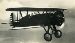 USA Avion Boieng P 12E Moteur Wasp SR1340E Aviation Ancienne Photo 1940 - Aviation